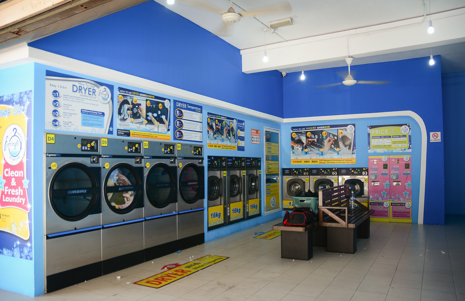 coin automatic laundry equipment company