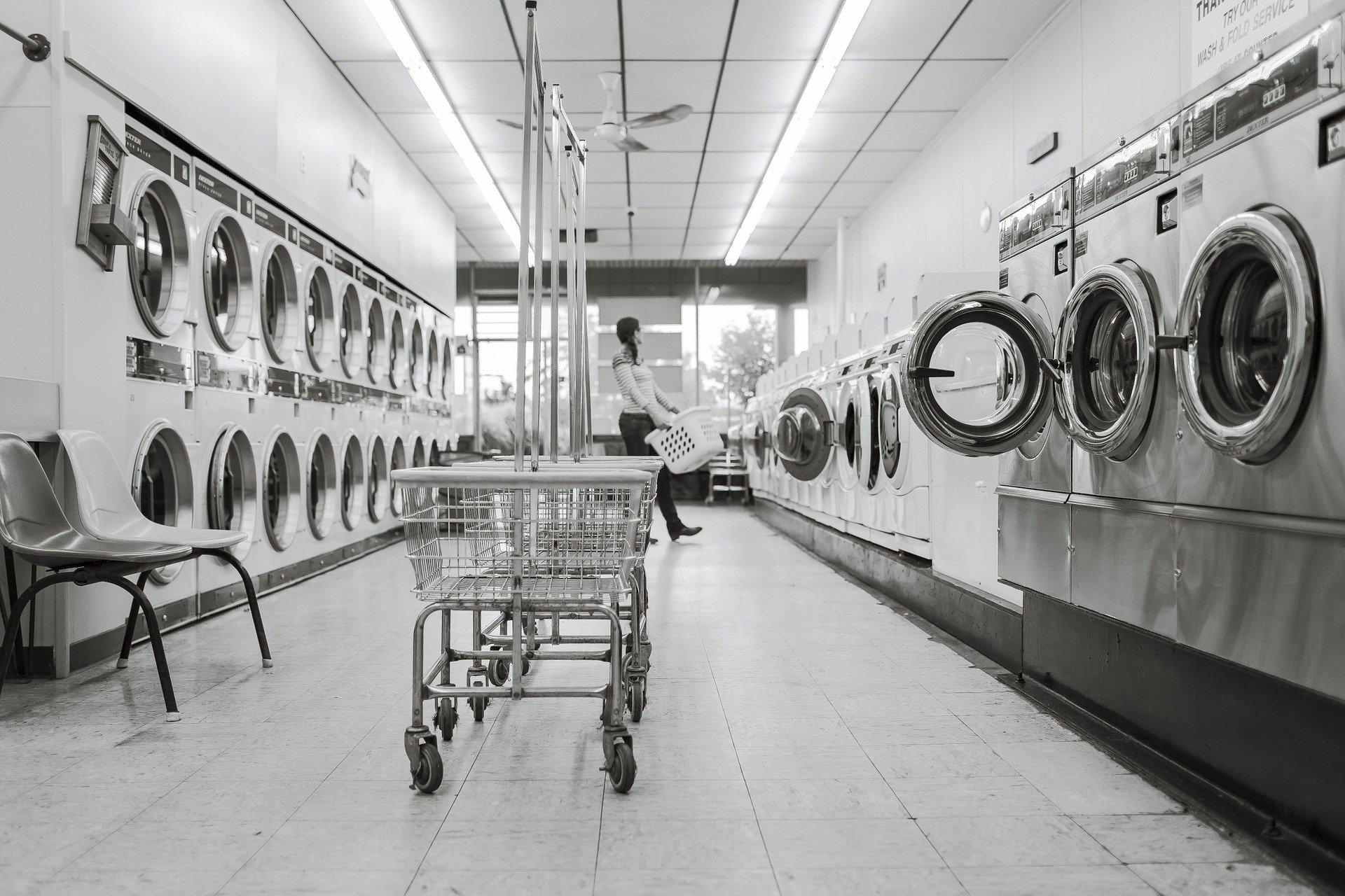 commercial laundromat